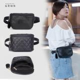 Toko Tas Pinggang Wanita Belah Ketupat Mini Sederhana Hitam Lingge Pu Model Hitam Lingge Pu Model Termurah Tiongkok