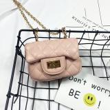 Beli Lingge Korea Fashion Style Wanita Uang Kecil Kunci Tas Selempang Tas Tali Rantai Merah Muda Warna Online Tiongkok