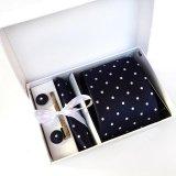 Beli Lingho Belt 2017 Baru Cravat Desain Pria Dasi Leher Polka Dot Klip Hanky Manset Sets Formal Pakaian Bisnis Pesta Pernikahan Tie Untuk Mens K05 Intl Seken