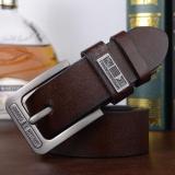 Harga Lingho Sabuk Baru Hot Men Sabuk Pu Leather Designer Quality Famous Pin Buckle Jeans Belt Untuk Pria Mewah Pria Strap Intl Asli