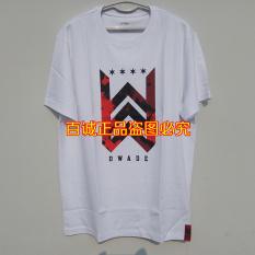 LINING ahsm307-1-3-5 bahan katun yang nyaman lengan pendek pria t-shirt (Putih)