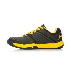 Harga Lining Aytk077 Bernapas Bantalan Musim Panas Sepatu Pelatihan Bernapas Sepatu Sepatu Bulu Tangkis Hitam Kuning Yao Lining Online