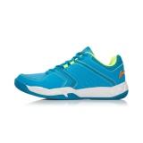 Review Pada Li Ning Sepatu Olahraga Pria Bersirkulasi Udara Mengurangi Guncangan Kayu Alkohol Biru Lampu Neon Hijau Orange Es