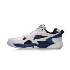 Lining Sepatu Olahraga Pria Anti Selip Tahan Pakai (Standar putih/biru tua biru/standar hitam) (Standar putih/biru tua biru/standar hitam)