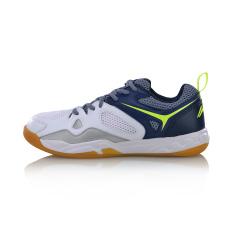 LINING Sepatu Bulutangkis Produk Baru Cahaya Sepatu Latihan Bernapas Tahan Banting