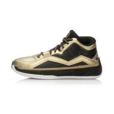 Harga Lining Sepatu Pria Sepatu Baru Fisi Kebugaran Profesional Hitam Emas Putih Asli