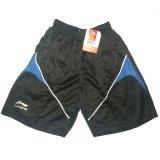 Harga Lining Celana Badminton 816 Hitam Strip Biru Lengkap