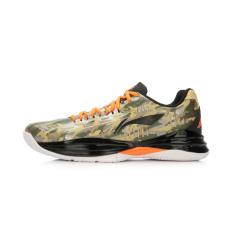 Harga Lining Abpj039 Produk Asli Peredam Guncangan Bola Basket Sepatu Boots Sepatu Bola Basket Kamuflase Hitam Neon Oranye Yao Abpj039 9 Baru Murah