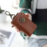 Katalog Linjiaxiaofei Imut Perempuan Multifungsi Mini Mudah Dibawa Tas Kecil Dompet Kunci Coklat Oem Terbaru