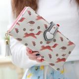Harga Linjiaxiaofei Dompet Dompet Imut Rumbai Zipper Perempuan Tupai Di Tiongkok