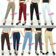 LITA STORE CELANA DRAWSTRING PANTS CEWEK / Atasan / blouse / baju setelan / baju murah / baju bagus / trendy / baju fashion / gamis dress / baju setelan / baju besar