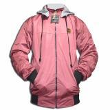 Spesifikasi Lmg Jaket Sweater Bolak Balik Polos Urgan 02 Merah Terbaik