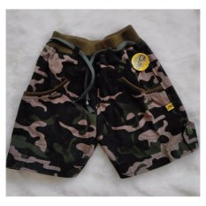 Promo Lobo Junior Army Shortpants Celana Anak Green Army Lobo