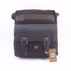 Spesifikasi Lois Tas Selempang Sling Bag Kanvas Pria Wanita Kuliah Kerja Gadget Laptop Ipad Tablet Bg 101 Br Cokelat Bagus