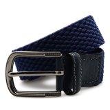 Harga Lombardi Giovanni Yn30 Unisex Elastic Belt Dark Blue Yang Bagus