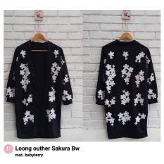 Long Outer Sakura BW