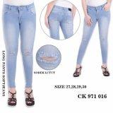 Jual Long Pants Jeans Sobek Celana Jeans Sobek Ck 971 016 Ckey Jeans Murah