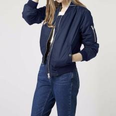 Lengan Baju Yang Panjang And Ramping ZANZE 2016 Jaket Wanita Musim Gugur Musim Kerah Cold Mantel Vintage Pembom Stan Tempat Kumpul Santai Pemukiman More Tahan Terhadap Dr Ukuran Better Angkatan Laut
