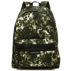 Beli Longchamp Le Pliage Neo Backpack Fantaisie M Khaki