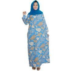 Longdres Batik, Daster Lengan Panjang, Baju Tidur, Kancing, Daster Bumil - Busui (LPT001-52) Batikalhadi Online