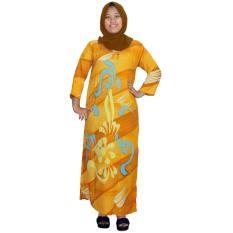 Longdres Batik, Daster Lengan Panjang Batik, Baju Tidur, Piyama, Leher O (LPT001-51) Batikalhadi Online