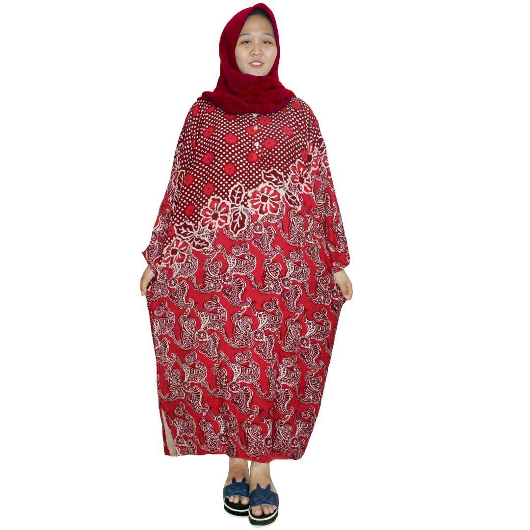 Daster Jumbo Batik Print Dpt003 29a Daftar Harga Terkini Termurah Menyusui Busui Bumil Longdres Lengan Panjang Baju Tidur Piyama Kancing