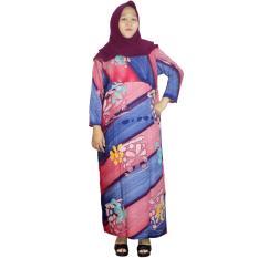 Longdres Jumbo Batik, Daster Lengan Panjang Jumbo, Baju Tidur, Piyama, Kancing, Daster Bumil, Busui (LPT003-25) Batikalhadi Online