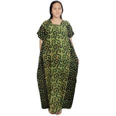 Longdres Kalong, Kelelawar, Lowo Batik Cap Halus Pekalongan, Baju Tidur, Piyama, Leher Kerut (RLD002-19) Batik Alhadi