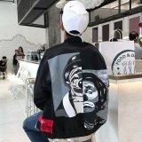 Beli Longgar Gaya Jepang Musim Semi Dan Musim Gugur Pria Siswa Jaket El Badut Lapisan Ganda Jaket Other Murah