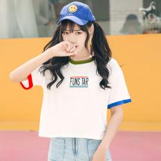 Longgar Korea Fashion Style Bordir Perempuan Baru T Shirt Lengan Pendek Atasan Putih Baju Wanita Baju Atasan Kemeja Wanita Oem Diskon 40