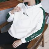 Jual Longgar Korea Fashion Style Laki Laki Berkerudung Musim Gugur Tutup Kepala Hoodie Kaos Sweater Putih Baju Atasan Kaos Pria Kemeja Pria Kaos Polo Tiongkok Murah