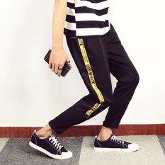 Jual Longgar Korea Fashion Style Laki Laki Sembilan Poin Celana Pria Kasual Celana Keren 313 Other Original