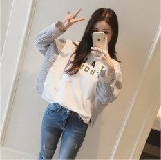 Harga T Shirt Longgar Wanita Gaya Korea Putih Putih Online