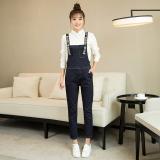 Jual Longgar Korea Fashion Style Musim Semi Dan Musim Gugur Perempuan Baru Denim Romper Pendek Biru Oem Grosir