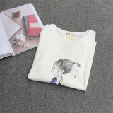 Berapa Harga Longgar Korea Fashion Style Perempuan Dicetak Siswa Baju Kaos T Shirt Anak Perempuan Kecil Putih Other Di Tiongkok