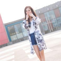 Baju 3/4 Wanita Bahan Sutera Tipis Gaya Korea