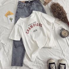 Spesifikasi Longgar Korea Fashion Style Siswa Perempuan Murah Pakaian Wanita Atasan T Shirt Putih Baju Wanita Baju Atasan Kemeja Wanita Bagus