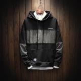 Harga Longgar Musim Gugur Lengan Panjang Berkerudung Pullover Kaos Sweater Abu Abu Baju Atasan Sweter Pria Yg Bagus