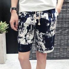 Celana Selutut Musim Panas Cepat Kering Celana Pantai Pakaian Pria Bagian Tipis (Nomor 12 Warna)