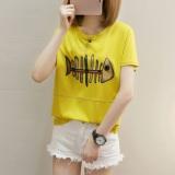 Beli T Shirt Lengan Pendek Longgar Wanita Gaya Korea 271 Kuning 271 Kuning Oem Asli