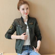 Beli Pakaian Bisbol Wanita Model Pendek Santai Versi Korea C178 Hijau C178 Hijau Cicil
