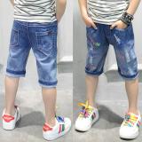 Diskon Looesn Celana Pendek Anak Laki Laki Denim Celana Musim Panas Ayat Celana Other Di Tiongkok