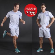 Toko Baju Olahraga Lengan Pendek Pria Cepat Kering Ukuran Besar 317 Putih Saku Dengan Zipper 317 Putih Saku Dengan Zipper Online