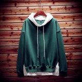 Review Toko Longgar Karakter Pria Ukuran Plus Kode Dicetak Kaos Sweater Pakaian Pria Pullover Kaos Sweater Hijau Online