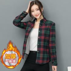 Korea Fashion Style Pakaian Baru Siswa Perempuan Atasan 04 Original