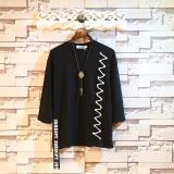 Spesifikasi T Shirt Crop Longgar Pria Gaya Korea Sundipy Hitam Hitam Oem
