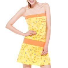 Lotto Eskf010-3 Perempuan Seri Kaus Gaun (Mangga Kuning Dicetak Kain)