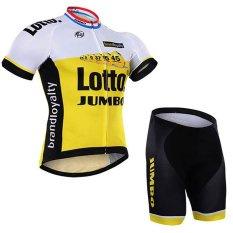 Lotto Pro Bersepeda Jersey Kuning Musim Panas PRIA MTB Sepeda Pakaian Ropa Maillot Ciclismo dengan Gel Pad X18-02-Intl