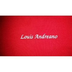 Promo Toko Louis Andreano La 8001 Body Fit T Shirt Red