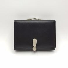 Louis - Clutch Dompet Compact Lipat Wanita - Black